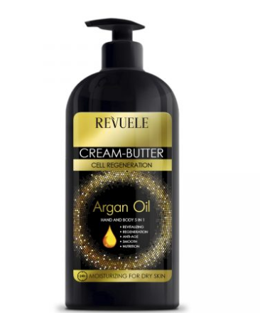 ARGAN OIL  HAND AND BODY 5 IN 1 CREAM BUTTER 400 ml