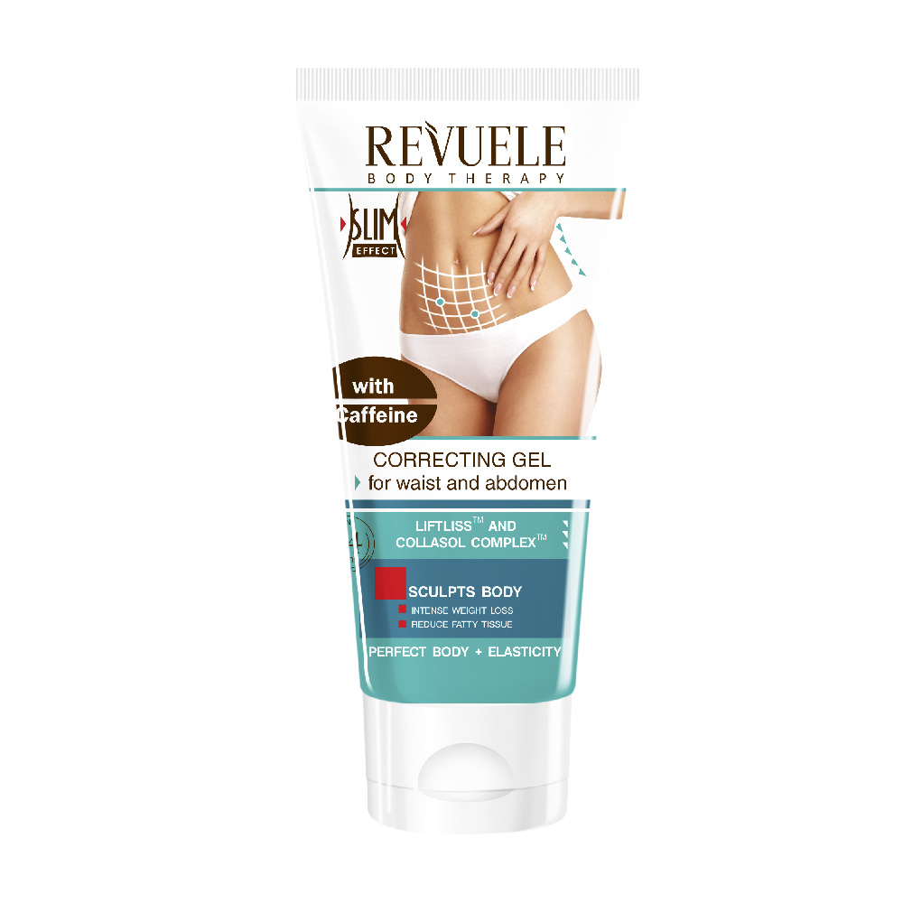 CORRECTIVE GEL FOR WAIST AND BELLY WITH CAFFEINE 200ml