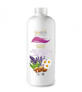 SHOWER GEL ALOE VERA+ALMONDS OIL+CHAMOMILE+LAVANDER  500ML
