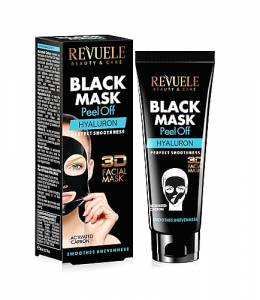BLACK MASK PEEL OFF-HYALURON- 80ml