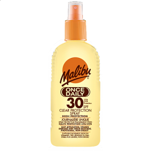 SPF30 ONCE DAILY CLEAR PROTECTION 200ML