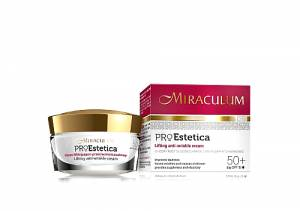 MIRACULUM PRO ESTETICA LIFTING ANTI WRINKLE DAY CREAM 50+