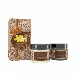 VANILLA LATTE GIFT SET(BODY EXFOLIANT 300ml+BODY CREAM SOUFFLE 300ml)