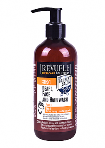 BARBER SALON BEARD,FACE AND HAIR WASH 3 IN 1