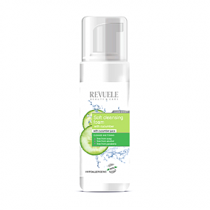 SOFT CLEANSING FOAM WITH CUCUMBER JUICE 150ML